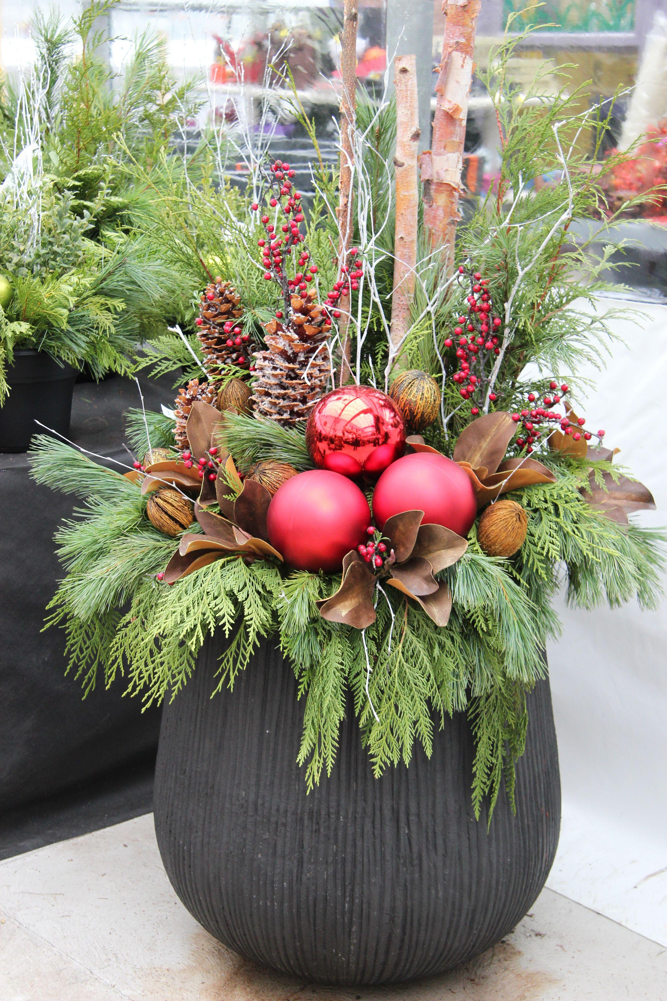 DIY Christmas Foliage Decor - RI Landscaper 855RILAWNS