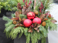 Diy Christmas Planters Awesome Outdoor Christmas Planter ? Holiday Planters