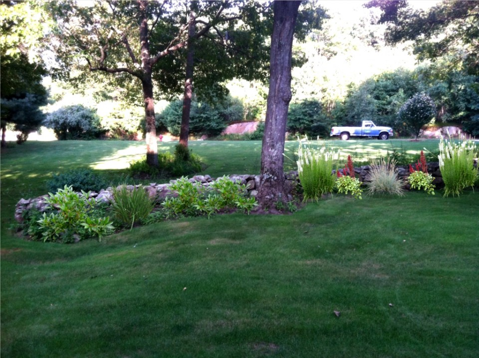 A cut above lawn care llc landscape design and for Landscape design ri