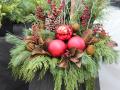 Diy Christmas Planters Awesome Outdoor Christmas Planter ? Holiday Planters