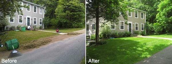 Narragansett Lawn Renovation Project