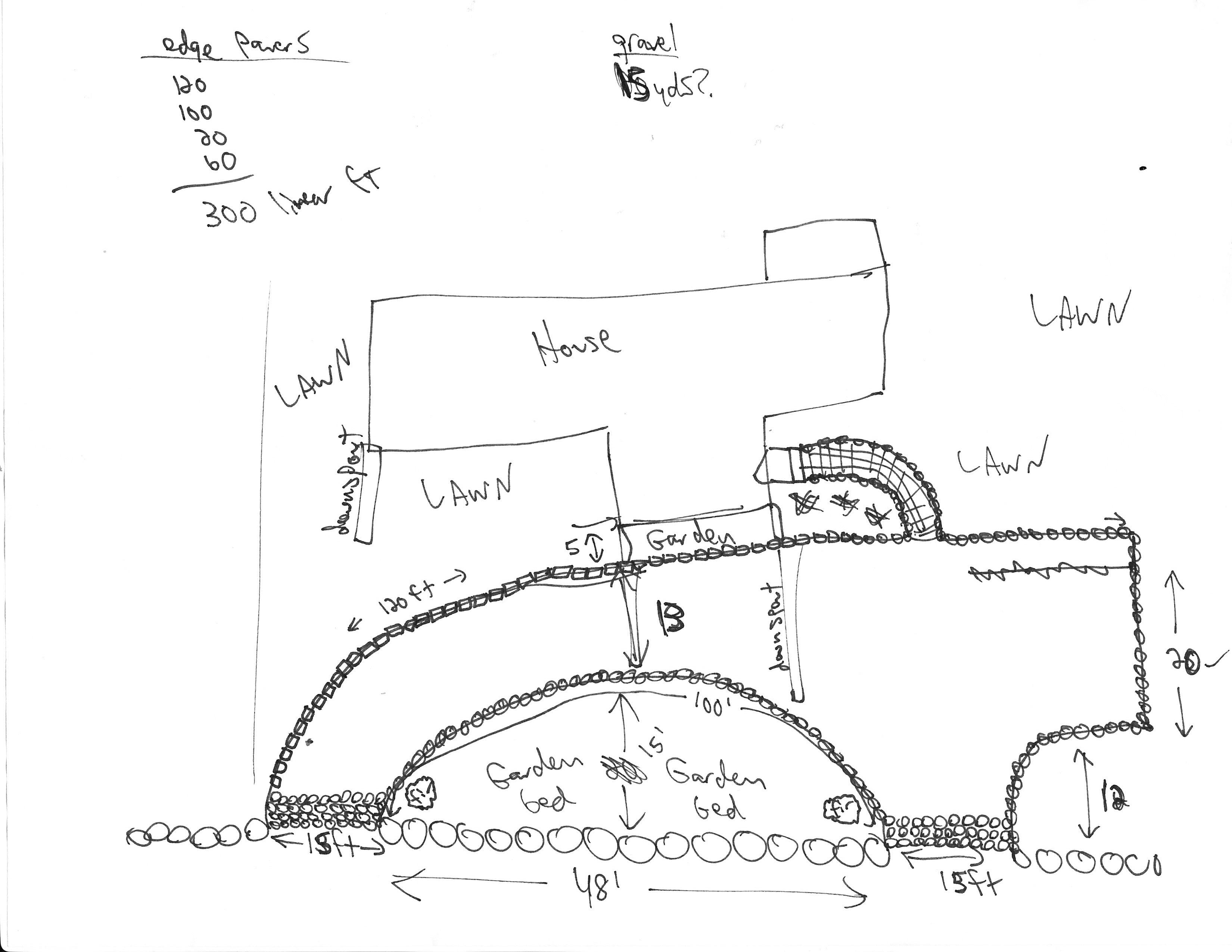 driveway plan