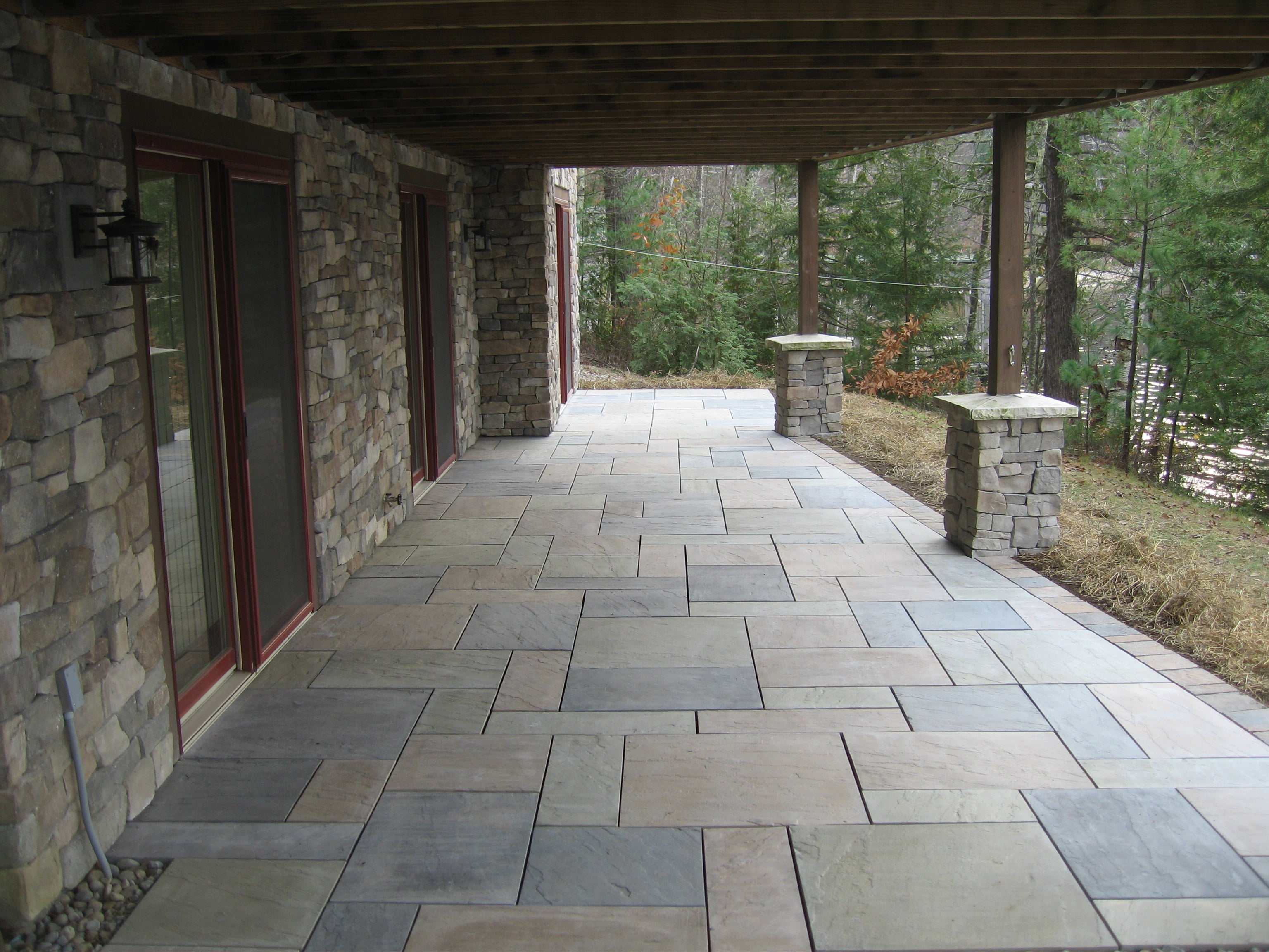 How To Pick The Best Pavers For Your Patio - RI Landscaper ... on Paver Patio Designs id=46865